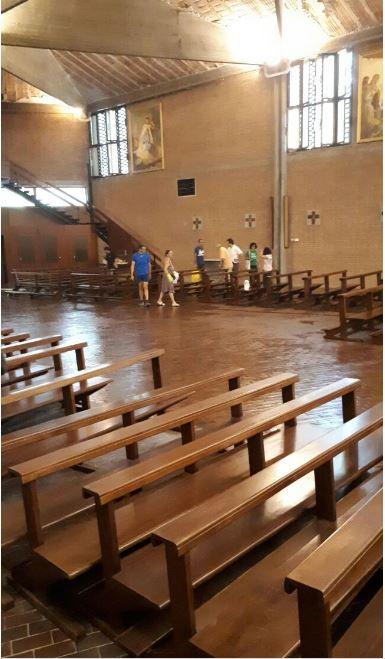 Che cosa è successo alla chiesa di Pero