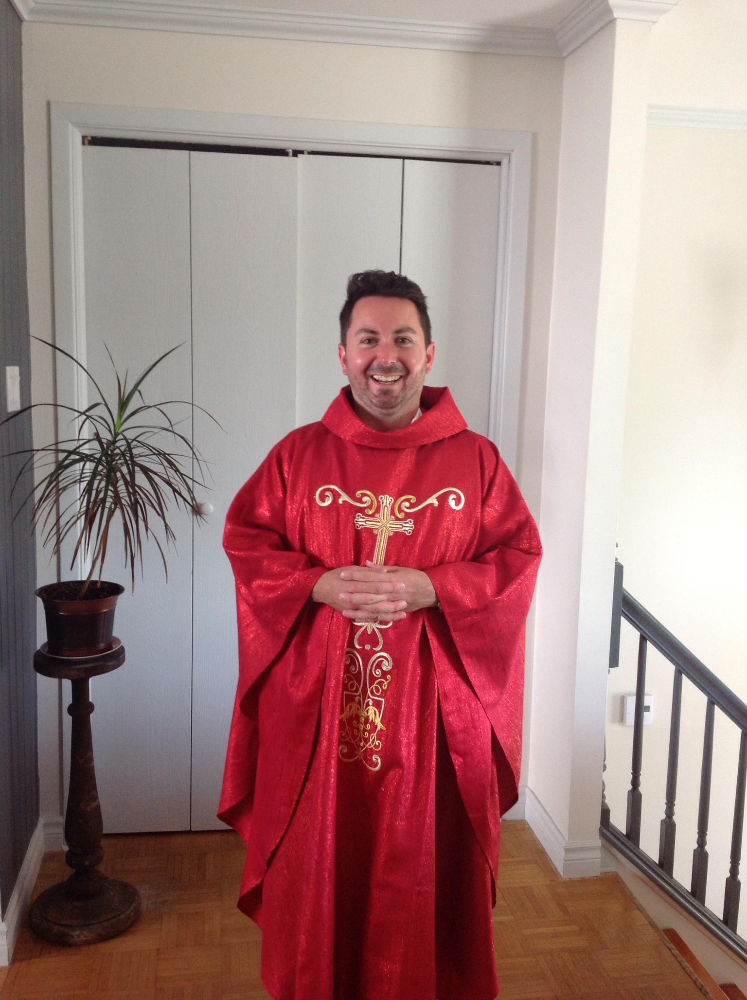 don Jean-François ordinato sacerdote