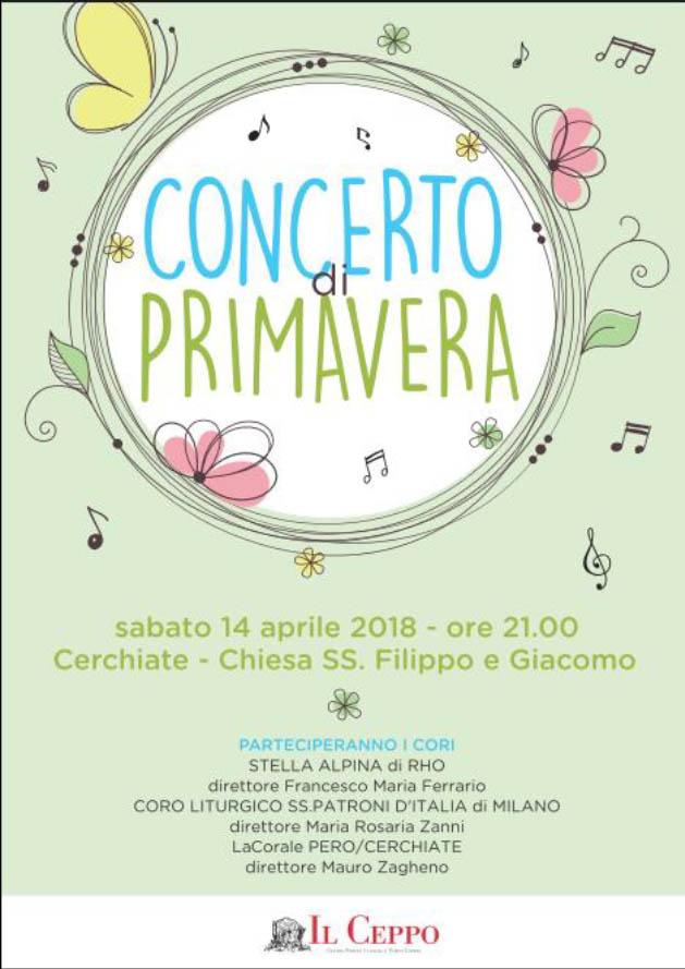 Concerto di Primavera 2018