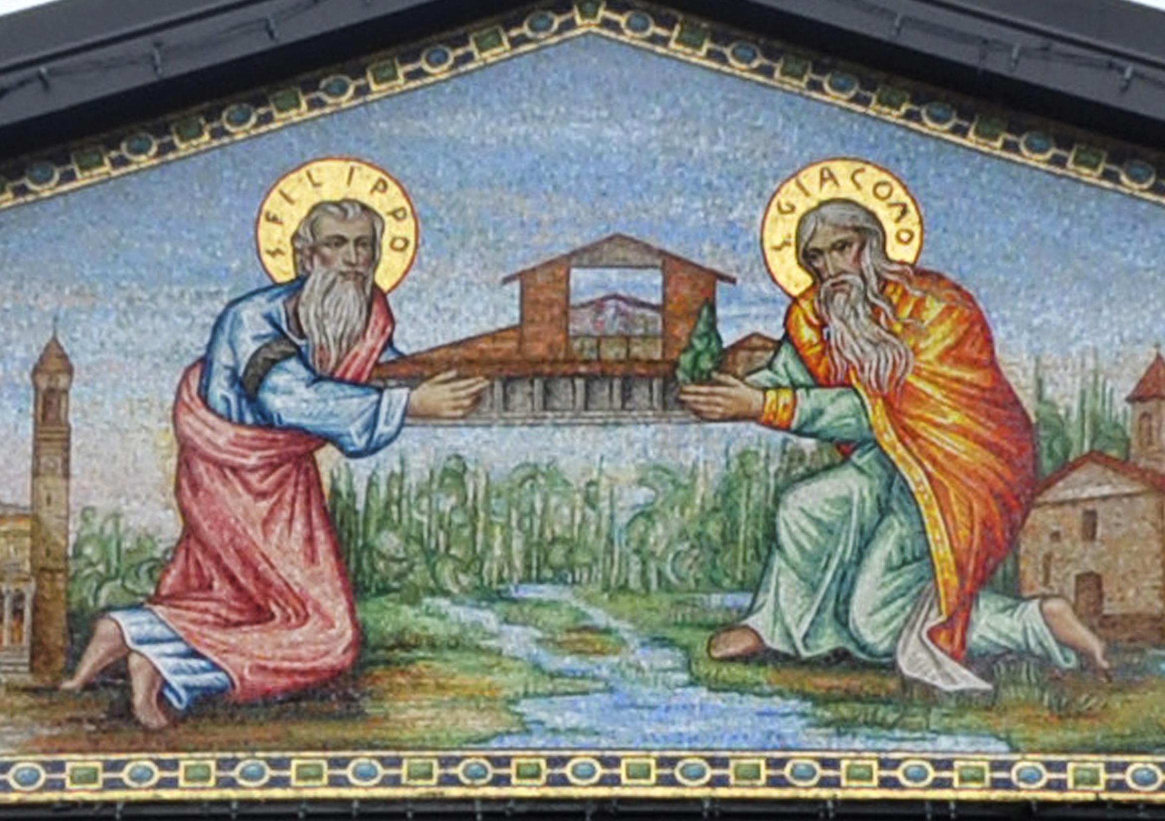 OMELIA PER LA FESTA DEI SANTI APOSTOLI FILIPPO E GIACOMO