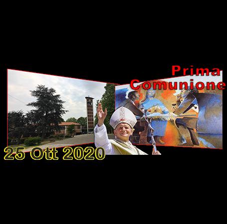 CELEBRAZIONE EUCARISTICA PER LA PRIMA COMUNIONE