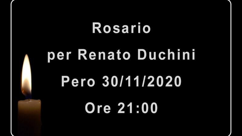 Rosario per Renato Duchini