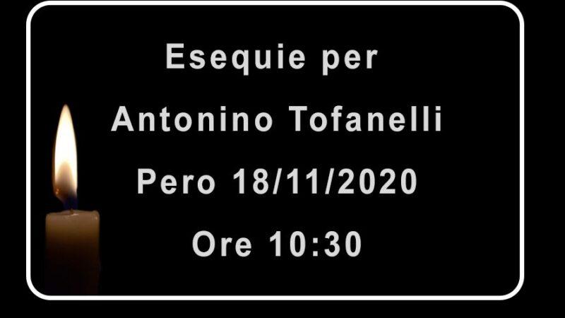 Esequie per Antonio Tofanelli