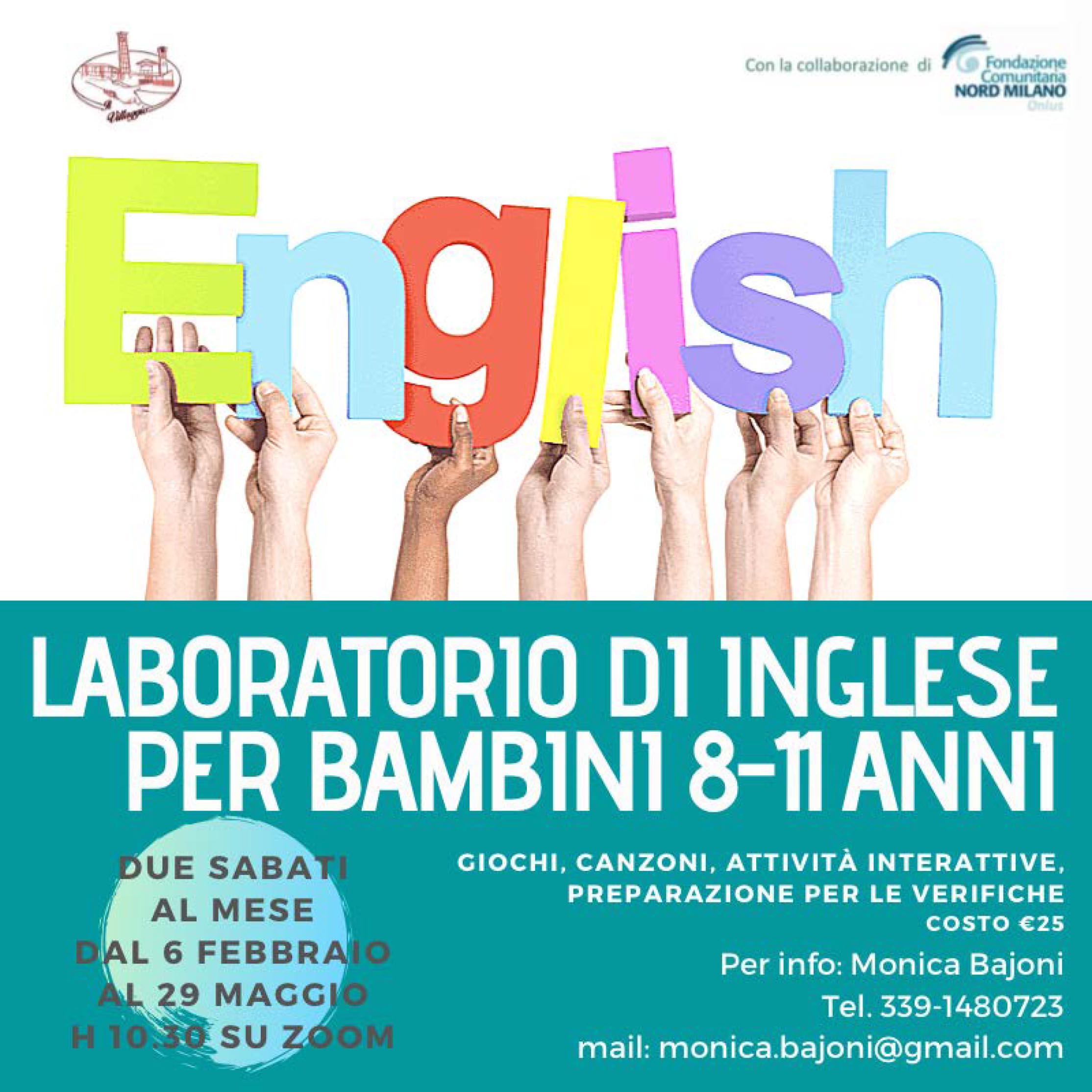 Laboratorio di inglese per bambini