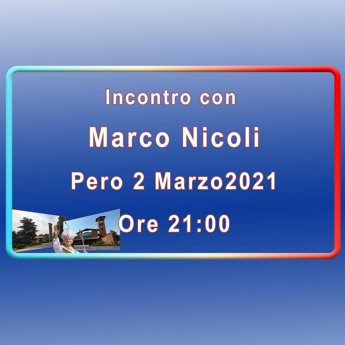 Incontro con Marco Nicoli