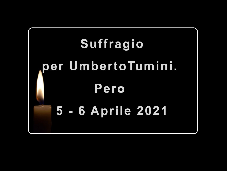 Rosario ed Esequie per Umberto Tumini